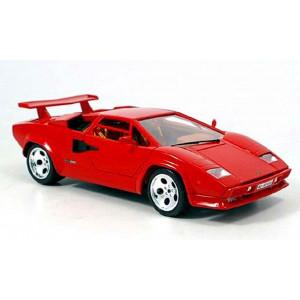 Bburago 18-12027 Lamborghini Countach 5000 Quattrovalvole in Red