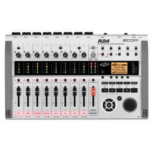 Zoom R 24 Recorder Interface Controller Sampler