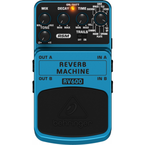 BEHRINGER REVERB MACHINE RV600 Effects Pedal