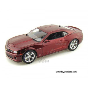 31173r Maisto Special Edition - Chevy Camaro Ss Rs Hard Top (2010, 1:18, Red) 31173 Diecast Car Model Auto Vehicle Die Cast Metal Iron Toy Transport