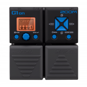 ZOOM G1ON Effects Pedal (4x AA Batteries)