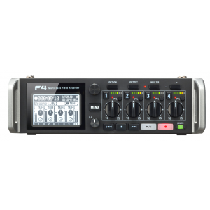 Zoom F4 F4 MultiTrack Field Recorder