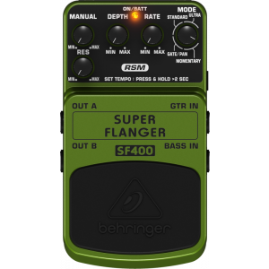 BEHRINGER SUPER FLANGER SF400 Effects Pedal