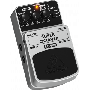 BEHRINGER SUPER OCTAVER SO400 Effects Pedal