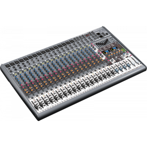 BEHRINGER EURODESK SX2442FX Mixer With 16 XENYX Mic Preamps and 99 Digital Effect Presets