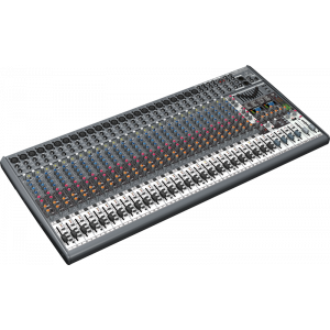 BEHRINGER EURODESK SX3242FX Mixer With 24 XENYX Mic Preamps and 99 Digital Effect Presets