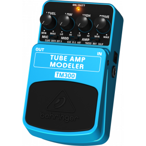 BEHRINGER TUBE AMP MODELER TM300 Effects Pedal