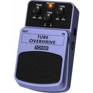 BEHRINGER TUBE OVERDRIVE TO100  Tube-Sound Effects Pedal