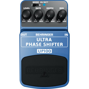BEHRINGER ULTRA PHASE SHIFTER UP100 2-Mode Effects Pedal