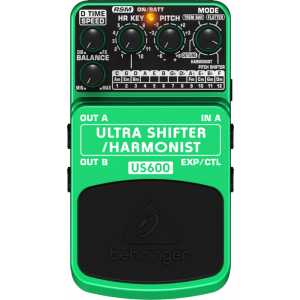BEHRINGER ULTRA SHIFTER/HARMONIST US600 Effects Pedal