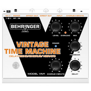BEHRINGER VINTAGE TIME MACHINE VM1 Analog Delay/Echo/Chorus/Vibrato