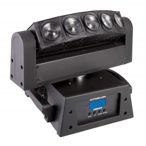 Epsilon X-Beam 5 Beam Moving Head fixture designed to produce mind blowing Beam Arial effects