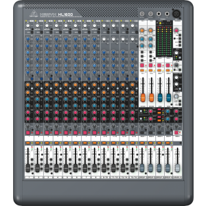 BEHRINGER XENYX XL1600 Mixer with XENYX Mic Preamps and British EQs