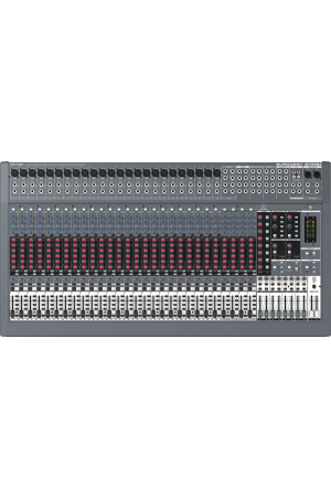 BEHRINGER EURODESK SX3282 Mixer with XENYX Mic Preamplifiers and British EQs